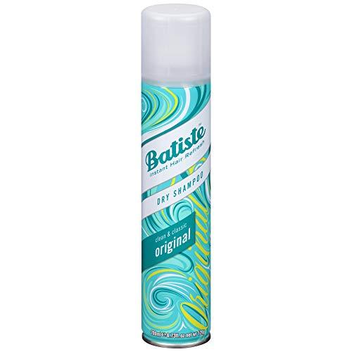 Batiste Trockenshampoo Dry Shampoo Clean and Classic Original, Frisches Haar für alle Haartypen, 1er Pack (1 x 200 ml)