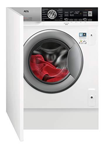 AEG L7WEI7680 Waschtrockner / DualSense - schonende Pflege / 8 kg Waschen / 4 kg Trocknen / Energiesparend / Mengenautomatik / Nachlegefunktion / ProSteam -...