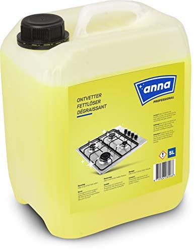 ANNA Professional Fettlöser Küche, Fettlöser für Grill Backofen Herd, Profi-Qualität für Gastronomie und Hausgebrauch, entfettet stark verschmutzte...