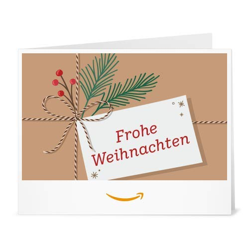 Amazon.de Gutschein zum Drucken (Weihnachtspäckchen)