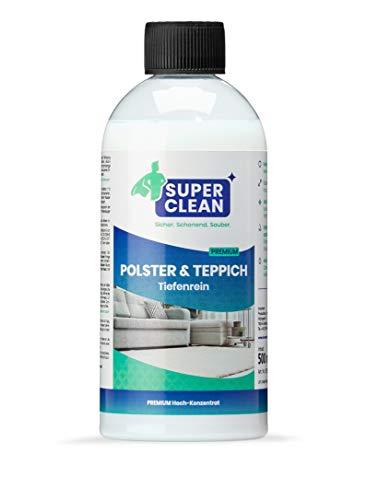 Spezial Flüssig Hochkonzentrat Polster & Teppich Tiefenrein für alle Arten von Polstern, Teppichböden, Läufern, Autositzen, Autositzbezügen, Sofa oder der...