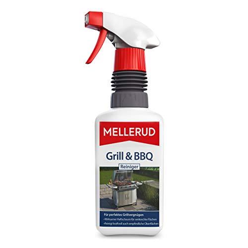 Mellerud Grill & BBQ Reiniger – Ergiebiges Spray zur Reinigung von Eingebranntem, Fett und Verkrustungen – 1 x 0,46 l