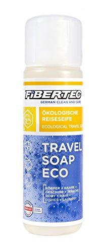 Fibertec Travel Soap Eco 250ml   Reiseseife   Alles-und-überall Seife   Outdoor Shampoo