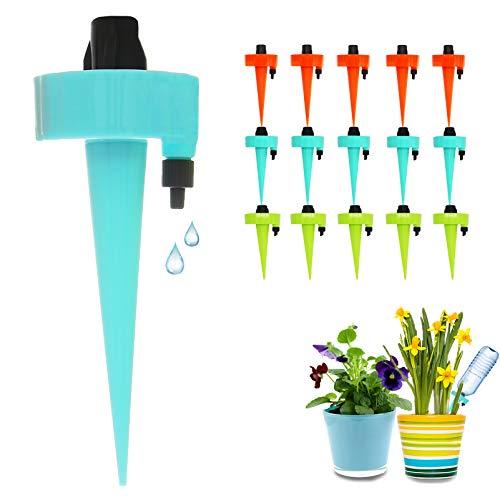 FRECOO Automatisch Bewässerung Set, Pflanzen Bewässerungssystem mit Einstellbar, Pflanzen Blumen Bewässerung für Topfpflanzen Garten Pflanzen Zimmerpflanze...