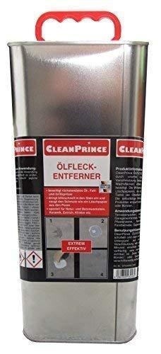 5 Liter Ölfleckentferner   Ölfleck Ölflecken Reiniger Reinigungsmittel Fettflecken Wachsflecken auf Stein Pflaster etc. von CleanPrince
