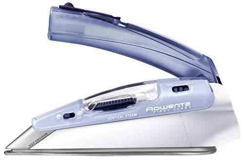 Rowenta Focus Travel Reisebügeleisen DA1510 | max. 1000W | 45g/Min. Dampfstoß | Vertikaldampf | Klappgriff | Aufbewahrungsbeutel | Dampfügeleisen mit 2...