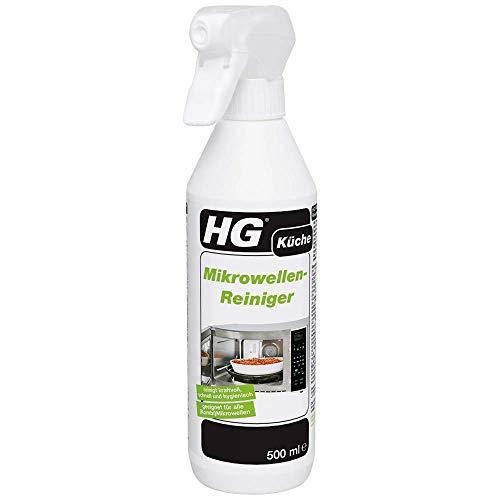 HG Mikrowellen-Reiniger 2er Pack (2x 500 ml) – Mikrowellen Reiniger - Zur Mühelosen Entfernung von Fett und Angebackenen Essensresten - In (Kombinations-)...