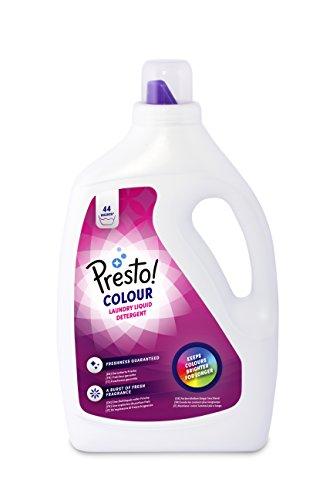 Amazon-Marke: Presto! Colorwaschmittel, 176 Waschgänge (4 x 44 Waschladungen)