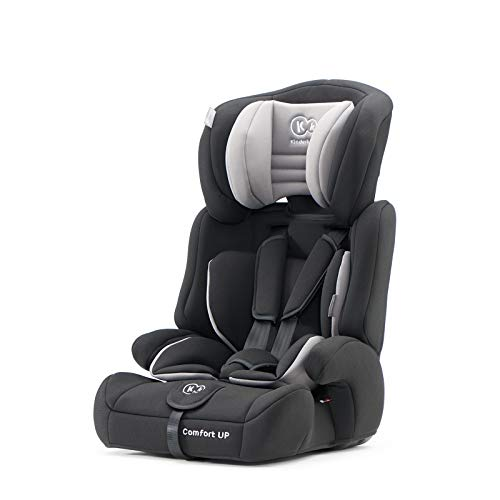 Kinderkraft Kinderautositz COMFORT UP, Autokindersitz, Autositz, Kindersitz, Gruppe 1/2/3 9-36kg, 5-Punkt-Sicherheitsgurt, Einstellbare Kopfstütze, ECE R44/04,...