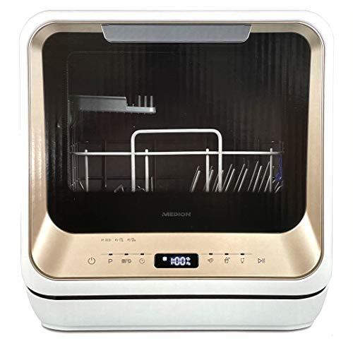 MEDION® Mini-Geschirrspüler MD37004 Mini Geschirrspüler Spülmaschine Tischgeschirrspüler Spüler