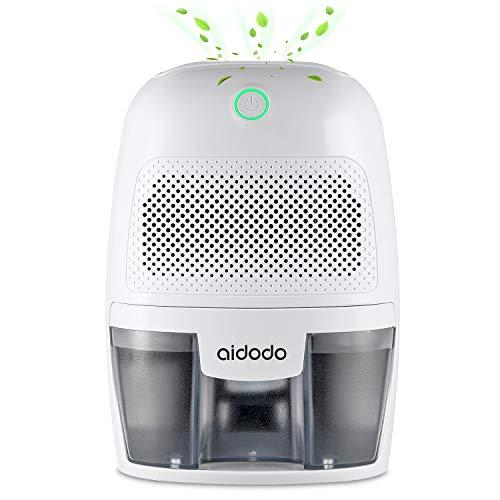 Aidodo Luftentfeuchter, 600ml Mini elektrischer raumentfeuchter automatischer entfeuchter leise Dehumidifier für Schmutz und Schimmel zu Hause, Schlafzimmer,...