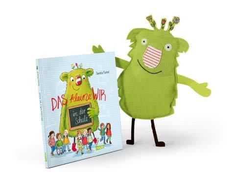 SONDERAUSGABE: Das kleine WIR Buch: In der Schule inklusive WIR-Stofffigur (Hardcover) ab 4