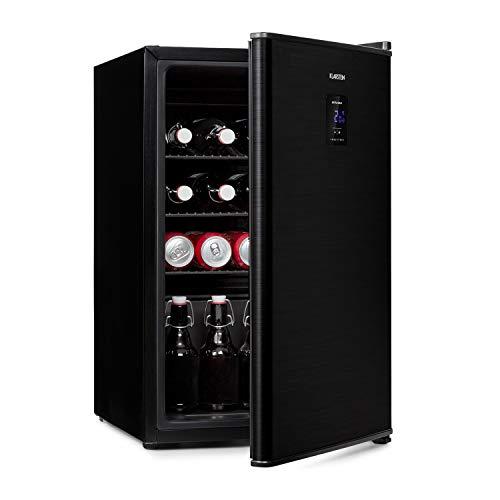 Klarstein Beer Baron Getränkekühler, Volumen: 68 Liter, Energieeffizienzklasse A+, Temperatur: 0-10 °C, Touch-Bedienfeld, 3 verstellbare Gitterböden,...