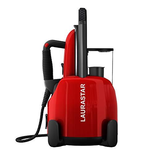 Laurastar Lift Original Red, Dampfbügelstation, 3-in-1 Bügelstation, die Ihre Kleidung entknittert, bügelt und reinigt, Hygienische Dampf, Abnehmbarer...