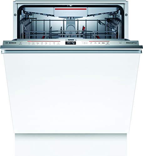 Bosch SMD6ECX57E Serie 6 Geschirrspüler Vollintegriert / D / 60 cm / 85 kWh/100 Zyklen / 14 MGD / SuperSilence / TimeLight / VarioSchublade / Home Connect