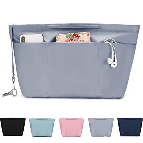 bridawn Handtaschen Organizer Nylon Wasserdicht Taschenorganizer Innentaschen für Tasche mit Reißverschluss