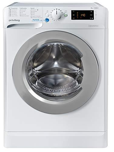 privileg PWF X 843 N Waschmaschine Frontlader / 1351 UpM / 8 kg / Push&Go Programm/Startzeitvorwahl/Kurzprogramme/Maschinenreinigung/Inverter...