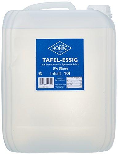 Höhne Tafelessig, 5% Säure, 1er Pack (1 x 10 l Kanister)