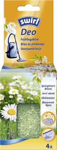 Swirl Staubsauger Deo-Perlen Frühlingsbrise 4x (Zum Einsaugen in den Staubsauger)