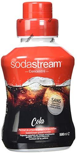 Sodastream Konzentrat Sirup Für Wassersprudler, Cola 500.Ml - [Confezione da 3]