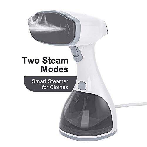 Dampfglätter dodocool 2000W intelligente Dampfbürste mit LCD Display 350ml Wassertank 20s Schnell Erwärmung Steamer Dampfbügeleisen Kleidung Wrinkle Remover...