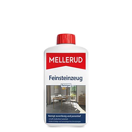 Mellerud Feinsteinzeug Reiniger – Zuverlässiges Mittel zum Entfernen von fettigen und hartnäckigen Verschmutzungen – 1 x 1 l