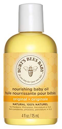 Burt's Bees Baby Pflegendes Babyöl, 100 Prozent Natürliche Babyhautpflege, 115 ml Flasche