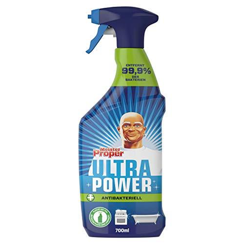 Meister Proper Ultra Power Allzweckreinigerspray Antibakteriell - Entfernt 99,9% aller Bakterien 700ml
