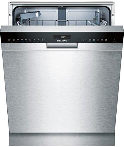 Siemens iQ500 SN458S00IE Halb eingebauter Geschirrspüler 13 Gedecke A +++ - Geschirrspüler (Teil eingebaut, Volle Größe (60 cm), Edelstahl, Schwarz, 1,75 m,...