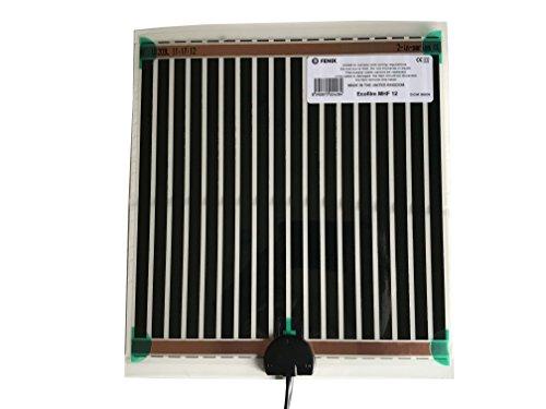 Fenix 6651850 Spiegelheizung/Heizfolie MHF-12, verhindert das Beschlagen von Spiegeln, selbstklebende Beschichtung für eine schnelle und einfache Montage,...