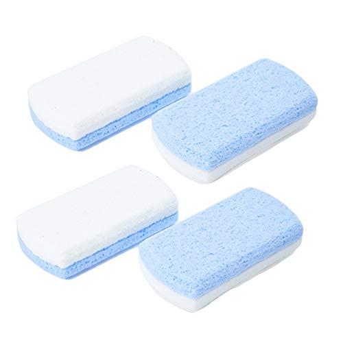 HEALIFTY bimsstein peeling pediküre werkzeuge hautentferner praktische doppelseite rechteck fuß wäscher füße kallus entferner 4 stücke