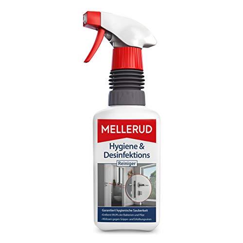 Mellerud Hygiene & Desinfektions Reiniger – Effizientes Spray zur Reinigung und Desinfektion von Allen Oberflächen im Haushalt – 1 x 0,5 l