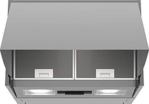 Bosch DEM63AC00 Serie 2 Wandesse / D / 60 cm / Silber / wahlweise Umluft- oder Abluftbetrieb / Drucktastenschalter / Intensivstufe / Metallfettfilter...
