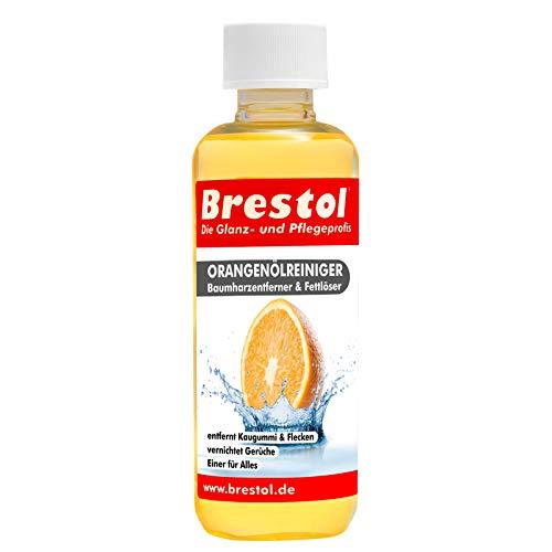 Brestol Orangenölreiniger 300 ml - Universalreiniger Fett Öl Kaugummi Baumharz Entferner Baumharzentferner Geruchsneutralisierter