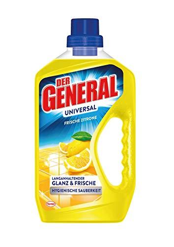 Der General Universal Frische Zitrone, Allzweckreiniger, 1 x 750 ml, Universalreiniger für hygienische Sauberkeit