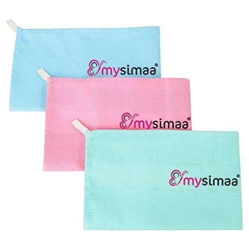 mysimaa® Classic Putztücher Premium Profi Microfaser Allzweck-Reinigungstücher ohne Putzmittel für Streifenfreien Glanz im Haushalt, Auto, Büro sowie für...