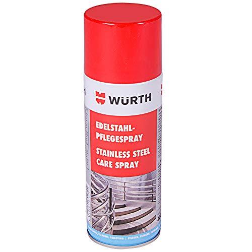 Würth Edelstahl Pflegespray 400ml Edelstahlreiniger Pflege Spray