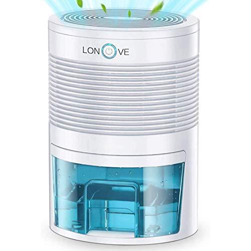 Luftentfeuchter Elektrischer Tragbarer Raumentfeuchter - 800ml Automatischer Entfeuchter leise Dehumidifier Kleine Luftentfeuchter für Schlafzimmer Badezimme...