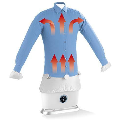 CLEANmaxx Automatischer Hemdenbügler mit Dampffunktion   Trocknet und glättet Hemden & Blusen und ersetzt Bügeleisen oder Dampfbügelstation   Automatische...