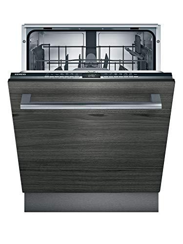Siemens SN63HX36TE iQ300 Vollintegrierter Geschirrspüler/E / 92 kWh / 12 MGD/Smart Home kompatibel via Home Connect/varioSpeed Plus/Oberkorb mit rackMatic