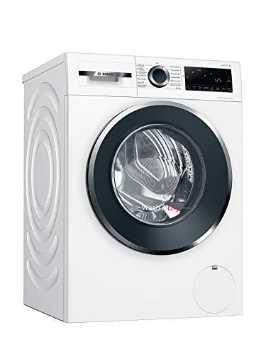 Bosch WNG24440 Serie 6 Waschtrockner / E / 372 kWh/100 Betriebszyklen (Waschen & Trocknen) / 9/6 kg / 1400 UpM / Weiß mit Glastür / AutoDry / Nachlegefunktion...