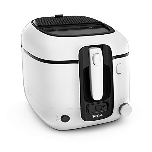 Tefal Fritteuse Super Uno FR3140 | inkl. Timer | Kapazität: 2,2 Liter | Spülmaschinengeeignete Teile | Antihaftbeschichtung | Geruchsfilter | Spritzschutz |...