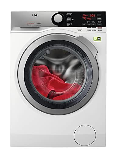 AEG L8FE74485 Waschmaschine / ProSteam - Auffrischfunktion / ÖKOMix - Faserschutz / 8,0 kg / Leise / Mengenautomatik / Nachlegefunktion / Kindersicherung /...