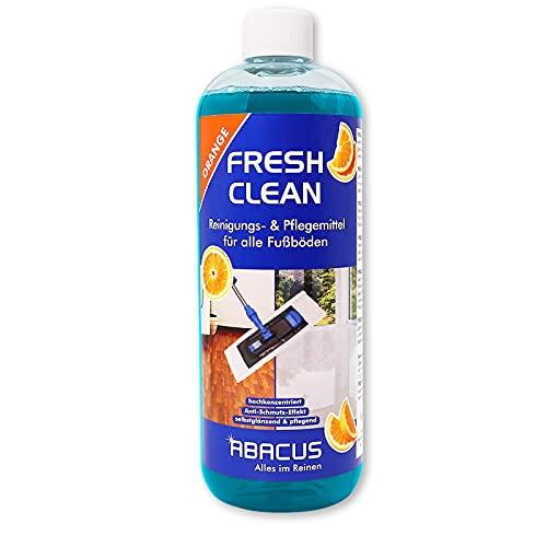 ABACUS 1 L Fresh Clean- Fußbodenreiniger Laminatpflege Fliesenreiniger Fußbodenpflege Laminatreiniger Fliesenpflege Linoleumreiniger PVC-Bodenreiniger Fliesen...