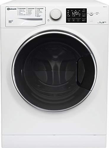 Bauknecht WM Steam 7 100 Waschmaschine Frontlader/A+++/1400 UpM/7 kg/langlebiger Motor/Antiflecken 100/Dampf-Option pflegt Wäsche hygienisch rein/EcoTech...