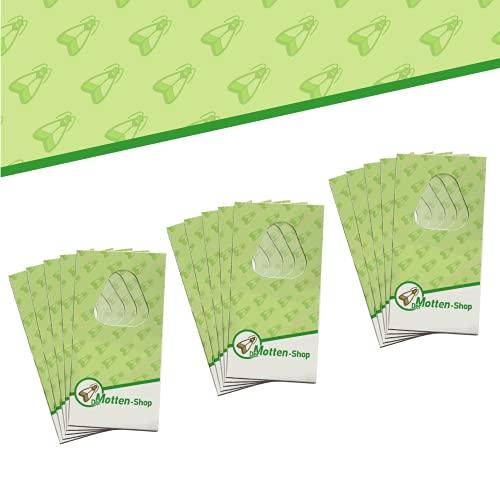 Der Motten-Shop, 4 Karten je 3 Lieferungen, Schlupfwespen gegen Lebensmittelmotten, biologische und nachhaltige Mottenbekämpfung, Umweltfreundliche und...