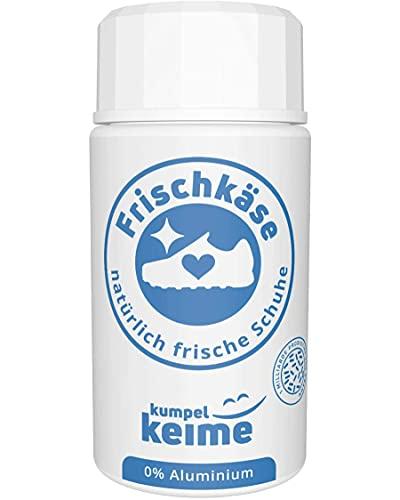 Frischkäse - das mikrobiologische Schuhpuder - Schuhdeo gegen Fußgeruch - Besser als ein Spray   Frische für Arbeitsschuhe, Sicherheitsschuhe, Sportschuhe &...