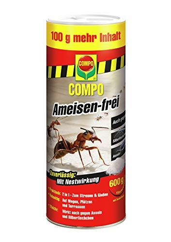 Compo Ameisen-frei, Staubfreies Ködergranulat mit Nestwirkung, 600 g