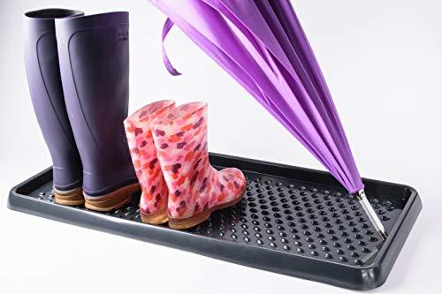 BranQ - Home essential BranQ Schuhablage aus Kunststoff, PP, Anthrazit, 1-pcs