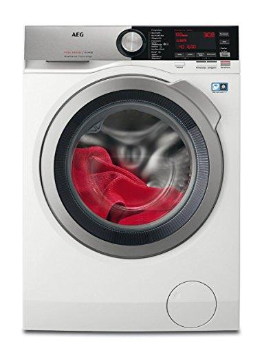 AEG L7WE86605 Waschtrockner / DualSense - schonende Pflege / 10 kg Waschen / 6 kg Trocknen / Energiesparend / Mengenautomatik / Nachlegefunktion / ProSteam -...